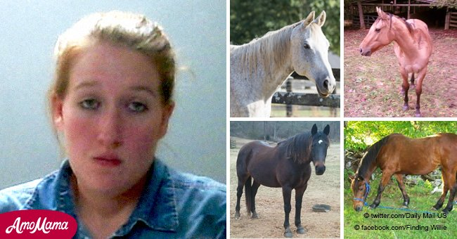 Alabama vet student, 24, 'rescued' 50 horses and then sold them to slaughterhouses