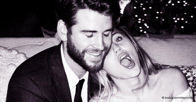 Miley Cyrus enthüllt ungesehene Hochzeitsfotos und dankt ihrem frischgebackenen Ehemann