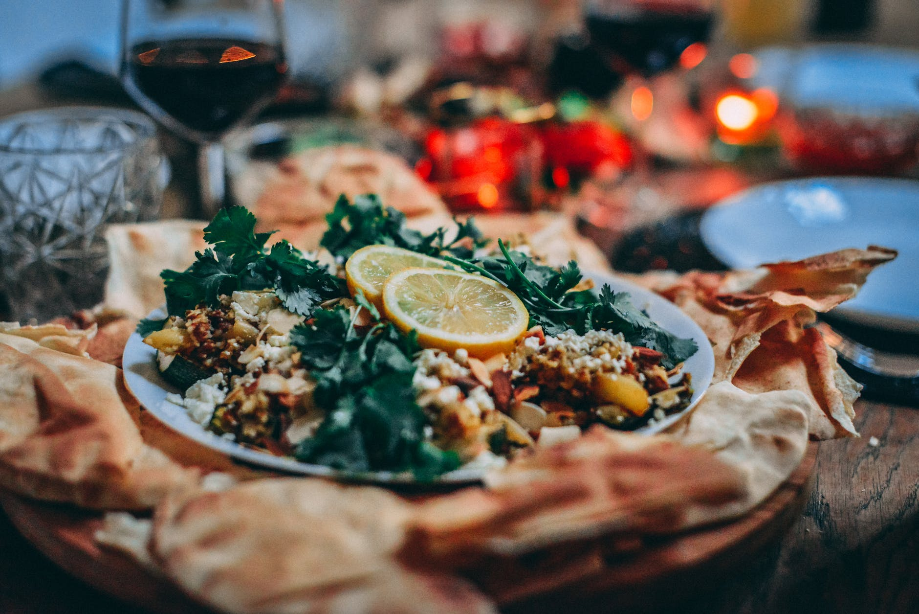 Alisha made my favorite dinner and set the table. | Source: Pexels