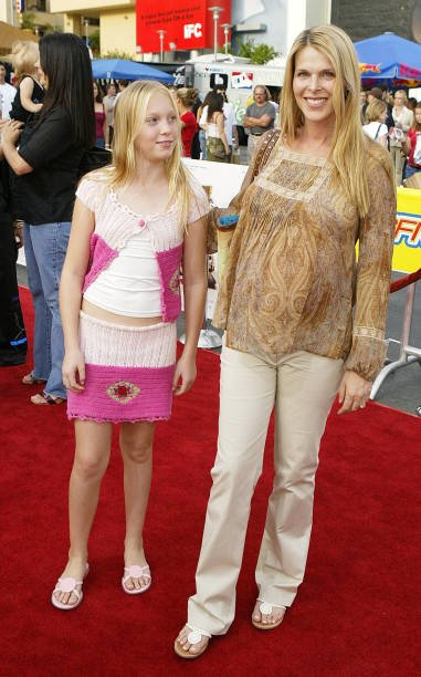 Catherine Oxengerg et sa fille   Photo : Getty Images