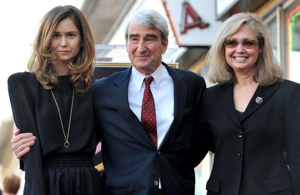 Katherine Waterston, Sam Waterston and Lynn Louisa Woodruff Waterston at The Hollywood Walk of Fame Star ceremony on January 7, 2010 in Hollywood, California. | Photo: Getty Images