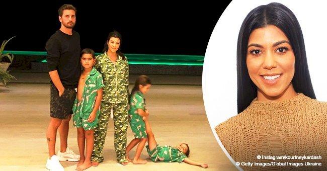 Kourtney Kardashian shares sleepover photo with ex, Scott Disick and their kids for Thanksgiving