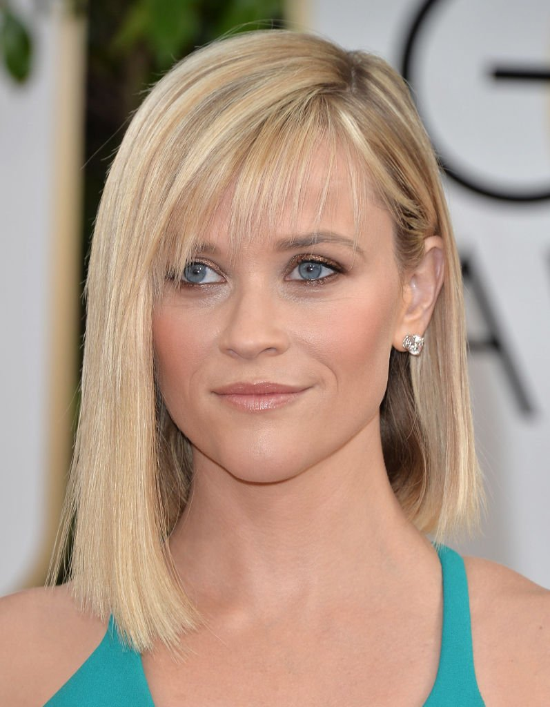 Reese Witherspoon at the 71st Annual Golden Globe Awards at The Beverly Hilton Hotel, 2014, California. | Photo: Getty Images