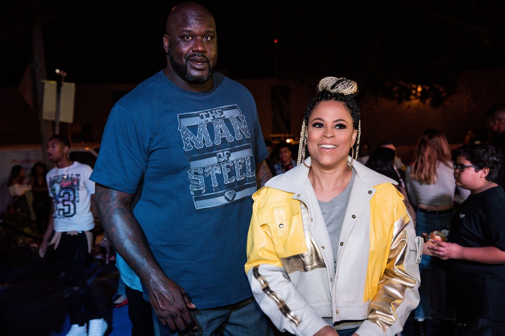 Shaunie O'Neal and Shaquille O'Neal celebrate Shareef O'Neal's 18th birthday party. Jan. 13, 2018. | Photo: GettyImages/Global Images of Ukraine
