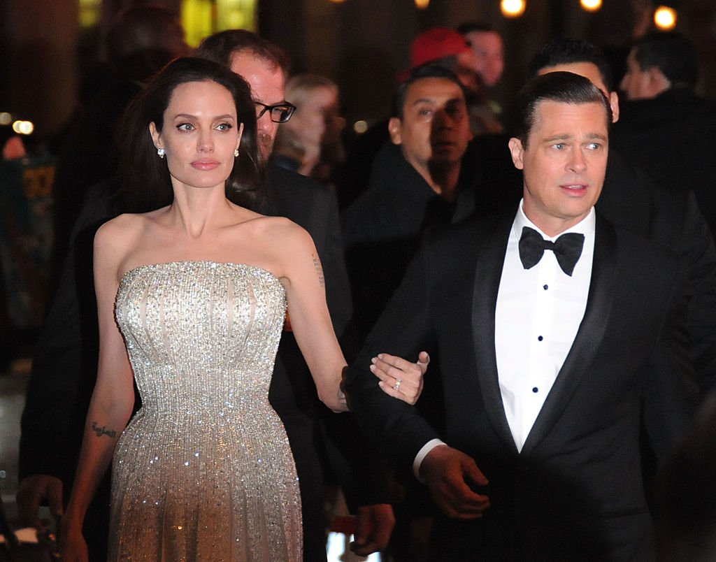 Actress Angelina Jolie and actor Brad Pitt arrive at AFI FEST 2015 Presented By Audi Opening Night Gala Premiere Of Universal Pictures' 'By The Sea' , November 2015 | Source: Getty Images