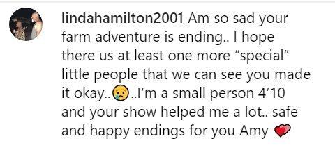 Fan reaction to Amy Roloff leaving the Roloff farm | Photo: Instagram/ AmyJRoloff