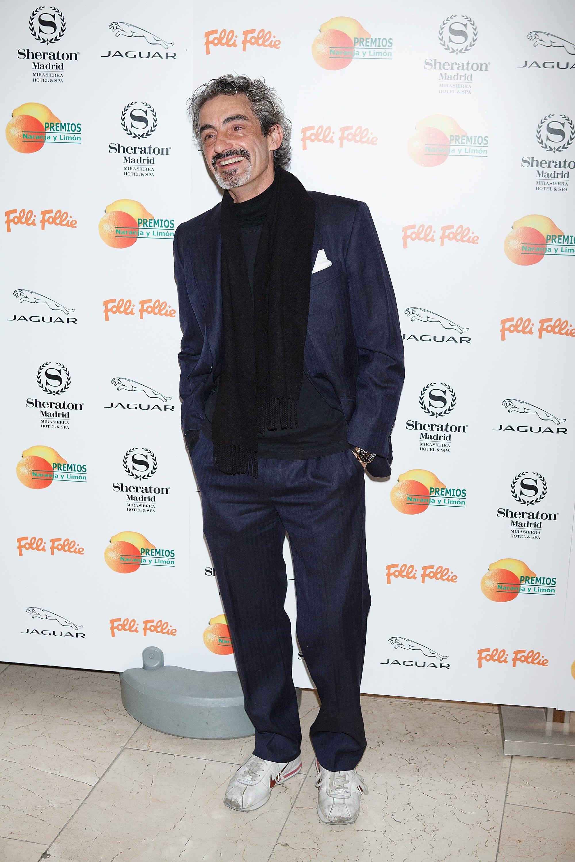 Micky Molina en los Premios Naranja y Limón 2013, en Madrid. || Fuente: Getty Images