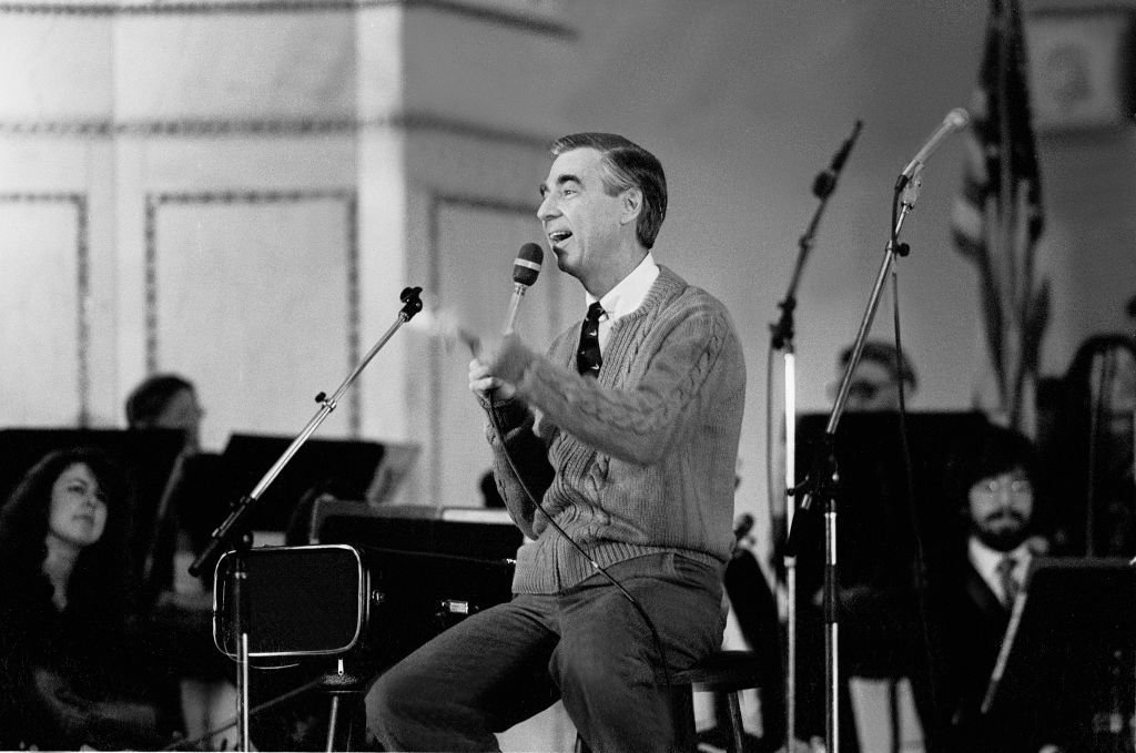 Fred Rogers at the Chicago Public Library on August 9, 1979   Photo: Getty Images