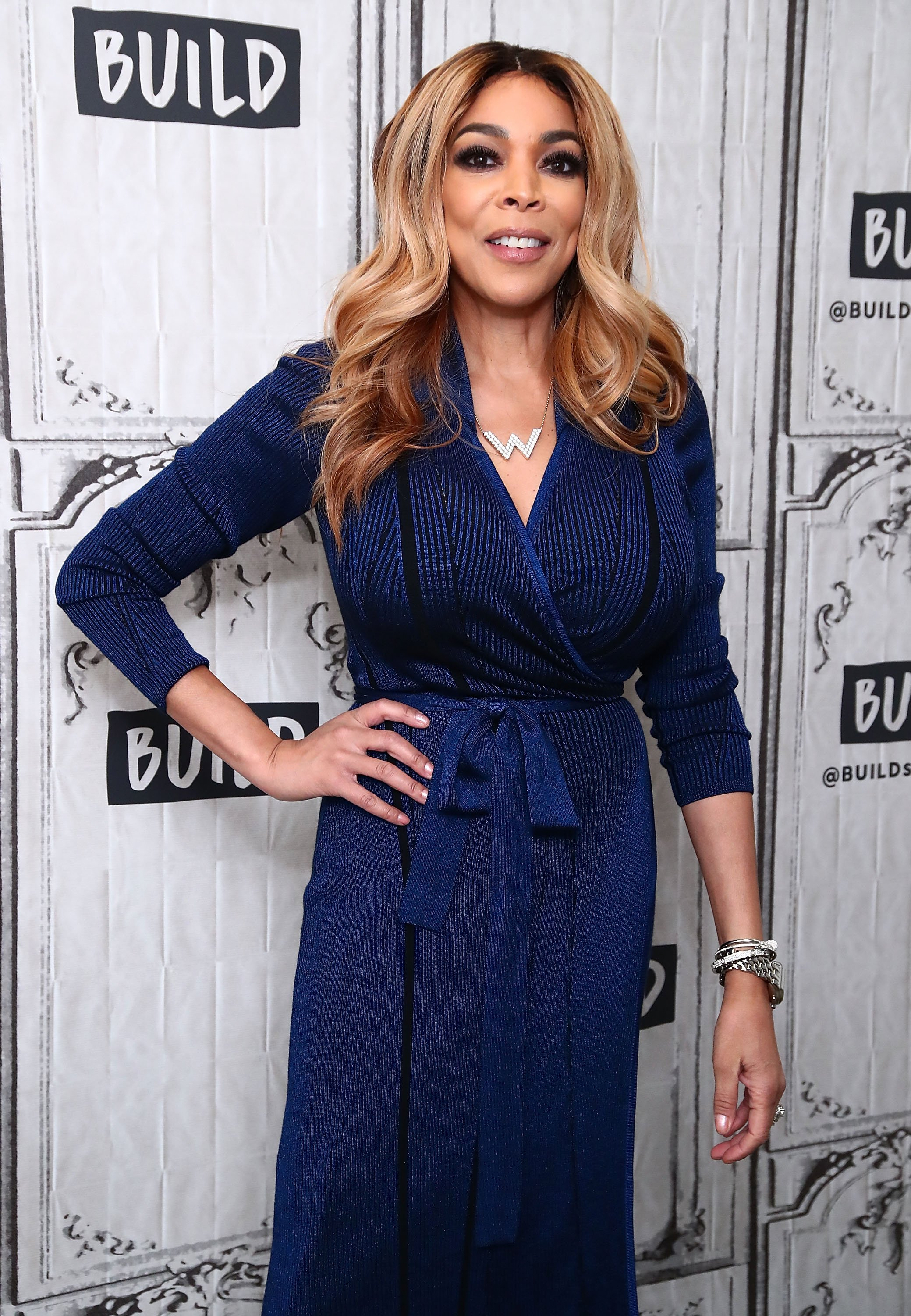 Wendy Williams au Build Studio le 17 avril 2017 à New York. l Source : Getty Images