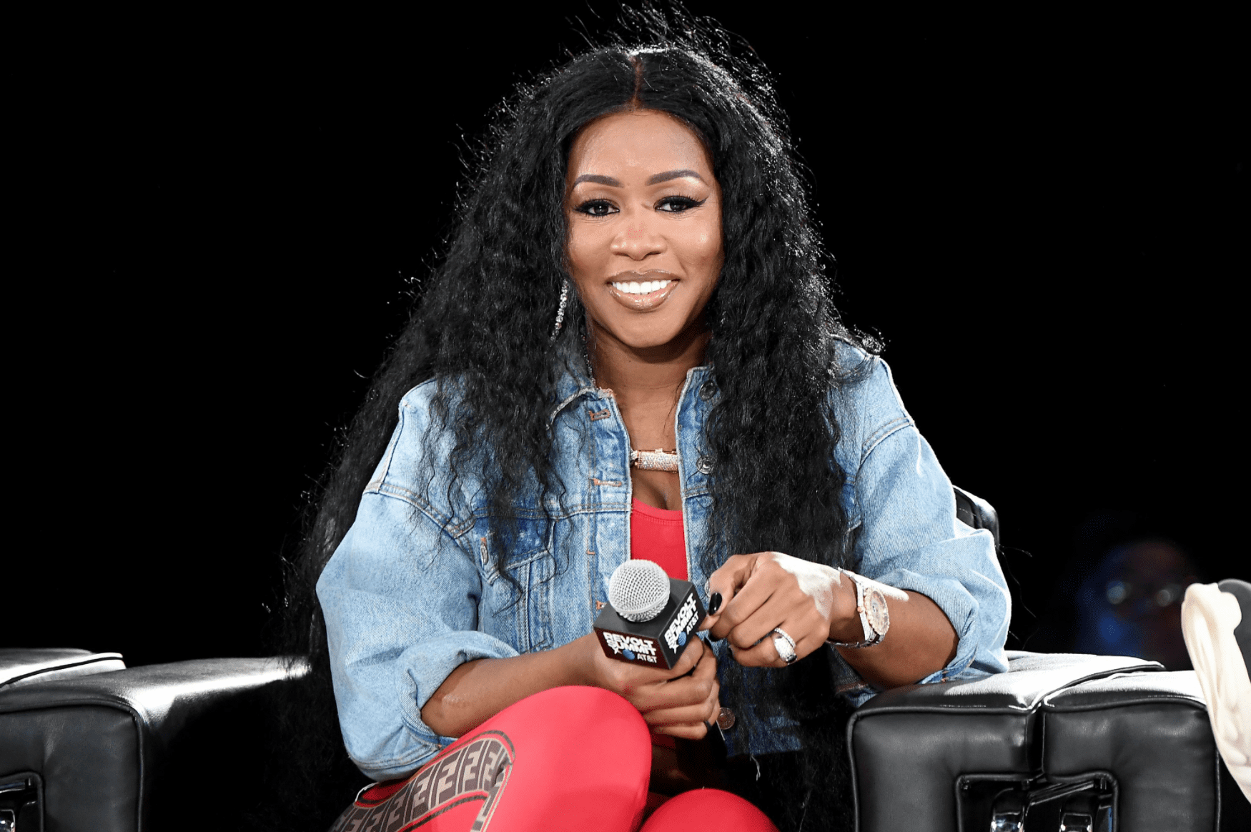 Remy Ma at the REVOLT Summit x AT&T Summit on September 13, 2019 in Atlanta, Georgia. | Source: Getty Images
