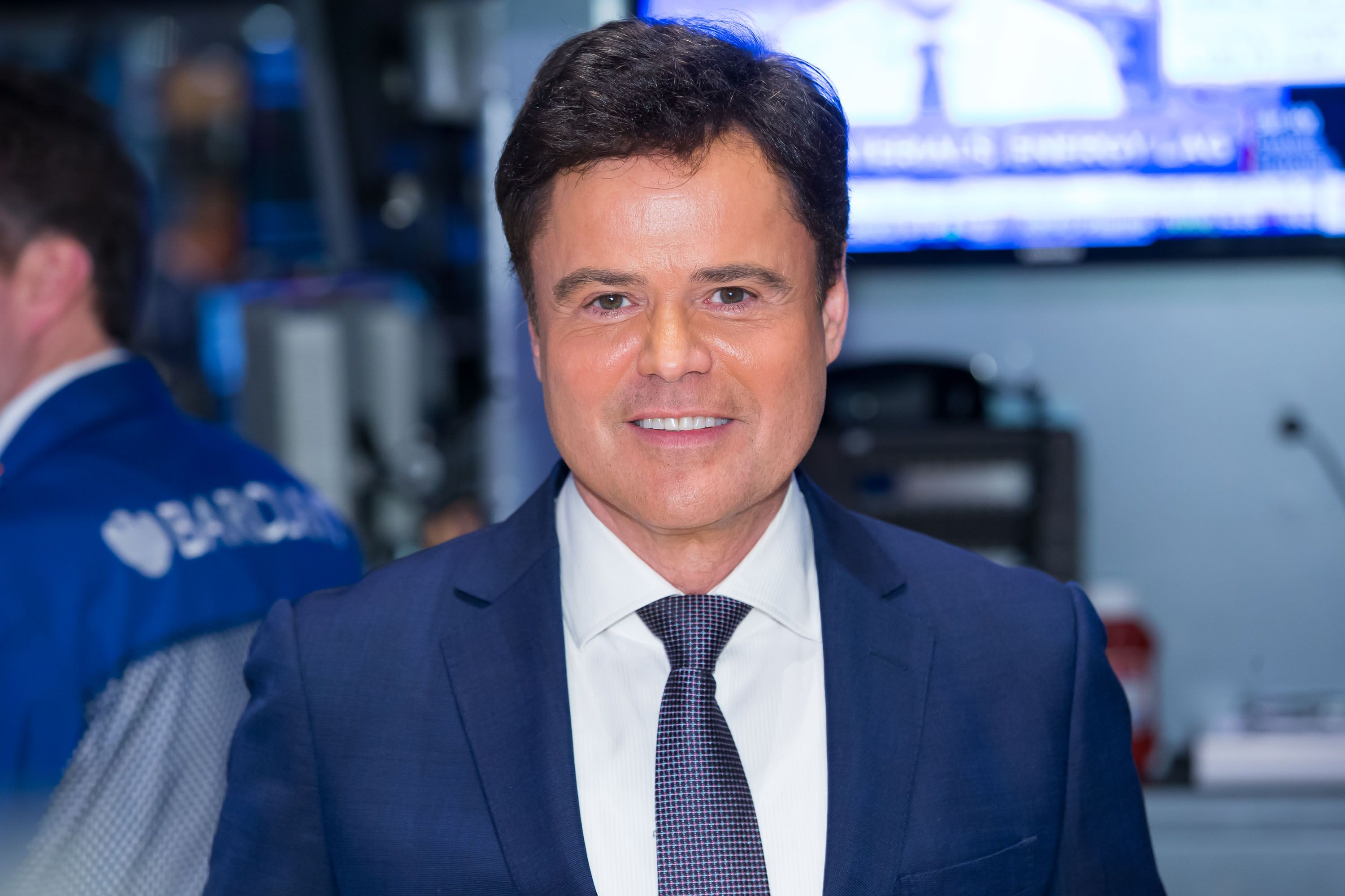 Donny Osmond rings the Closing Bell at New York Stock Exchange on January 13, 2015, in New York City   Photo:Getty Images