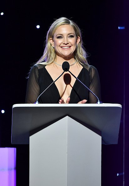 Kate Hudson at The Beverly Hilton Hotel on February 01, 2020 in Beverly Hills, California   Photo: Getty Images