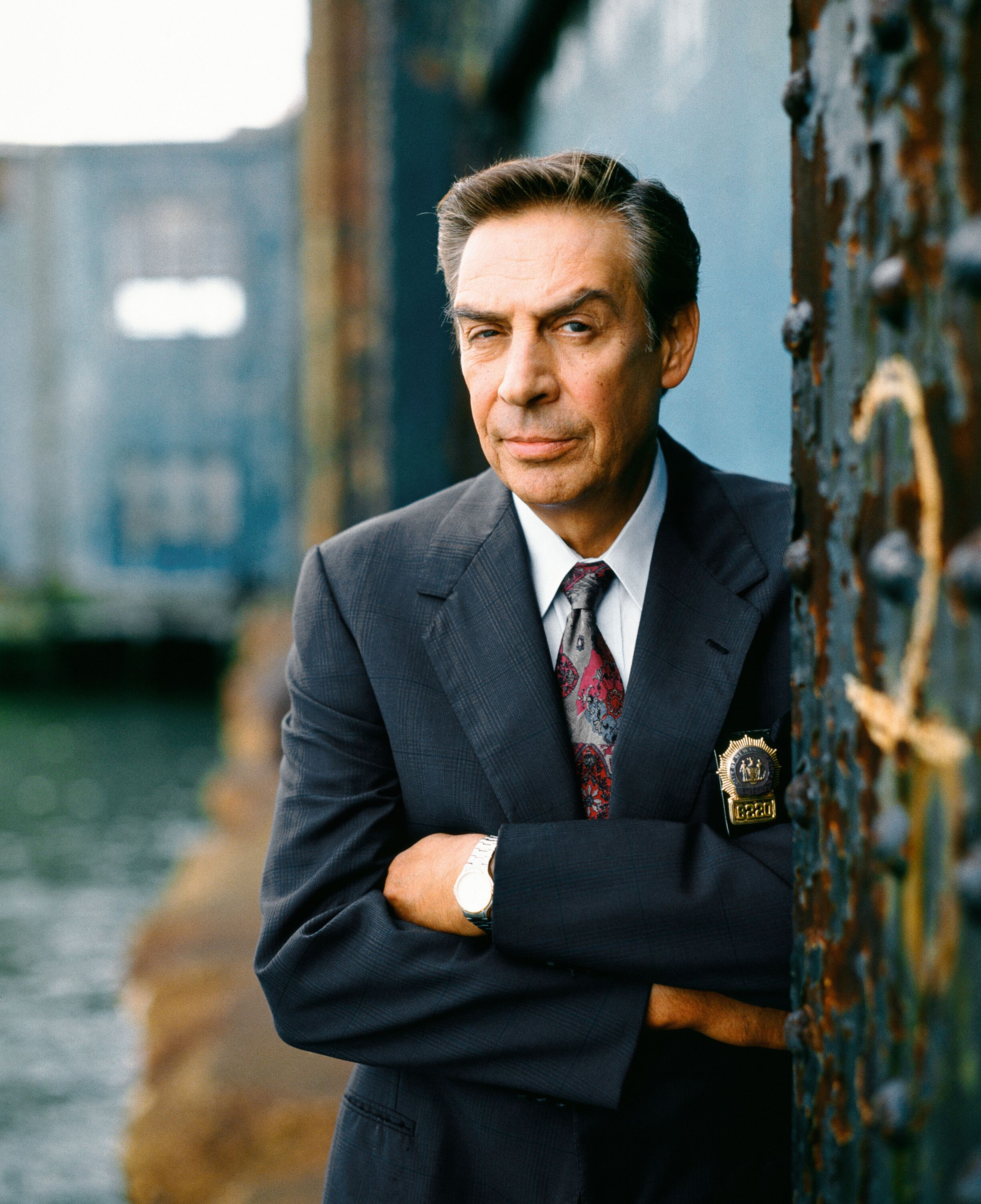 LAW & ORDER -- Season 7 -- Pictured: Jerry Orbach as Detective Lennie Briscoe | Photo: Getty Images