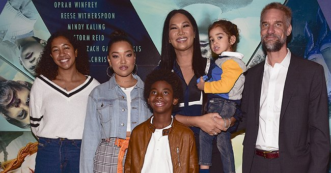Kimora Lee Simmons' Daughter Aoki and Brother Wolfe Pose near Sea in a Throwback Photo