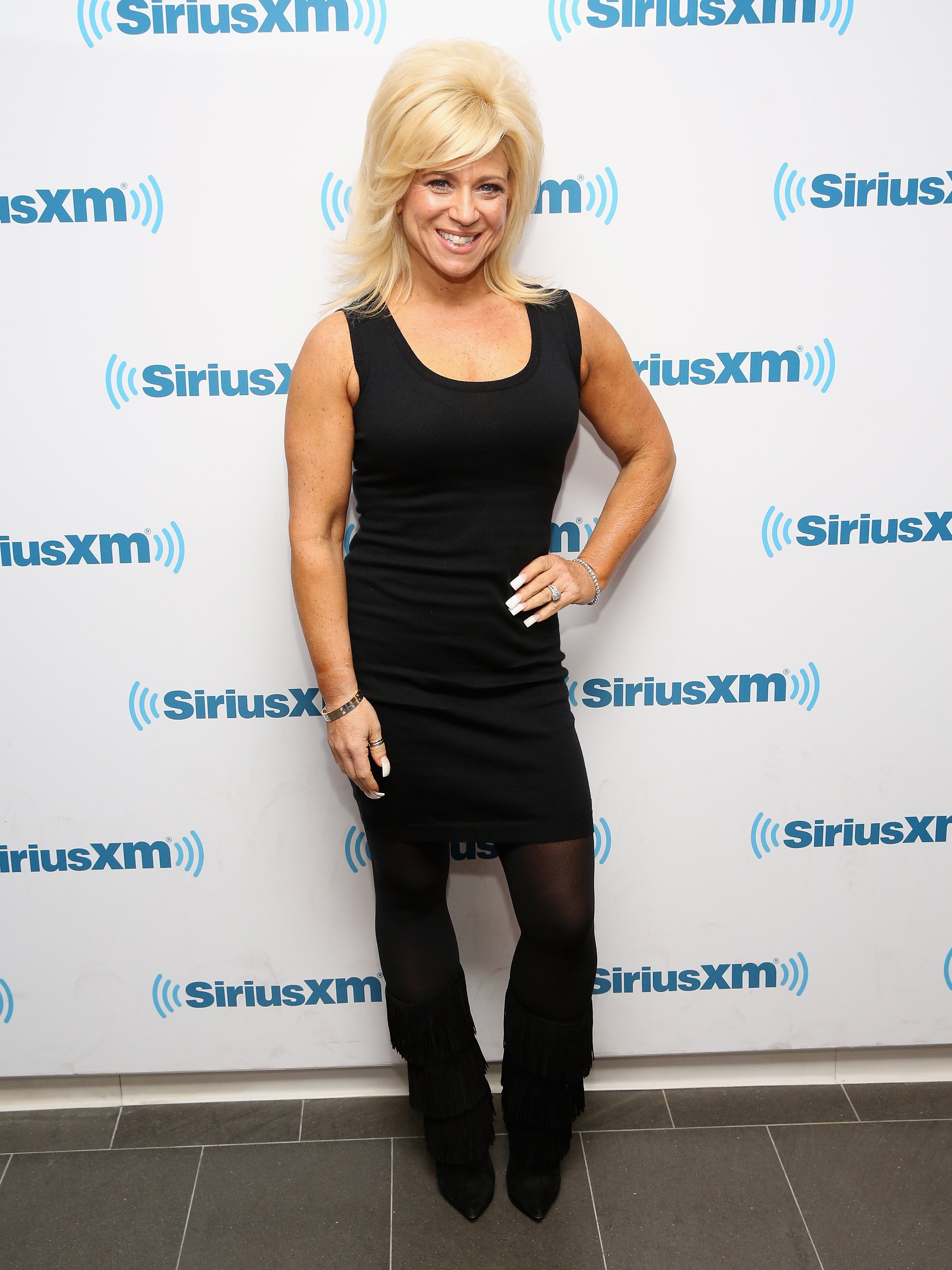 Theresa Caputo visits at SiriusXM Studios on December 15, 2015 | Photo: GettyImages
