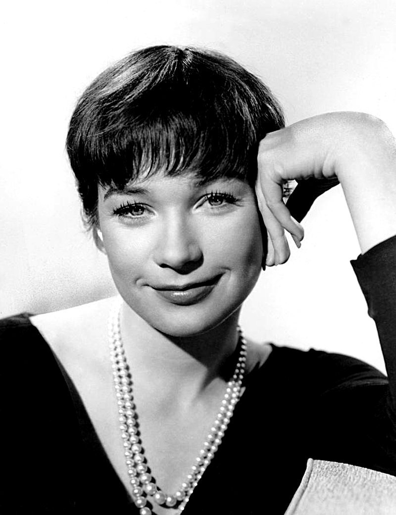 Publicity photo of Shirley MacLaine in The Apartment. Image credit: Wikimedia Commons