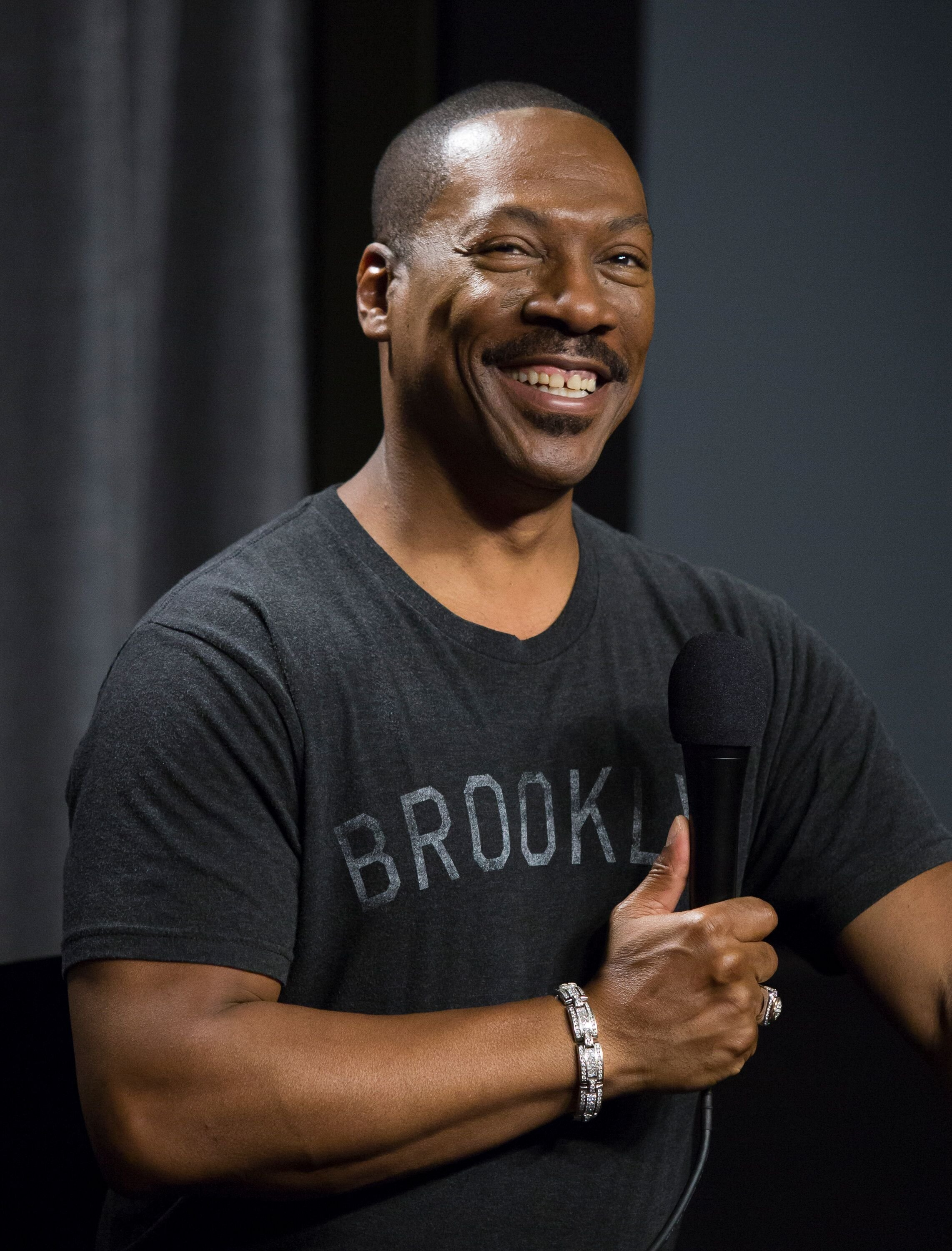"Eddie Murphy at SAG-AFTRA Foundation's Conversations with ""Mr. Church"" at SAG Foundation Actors Center. 