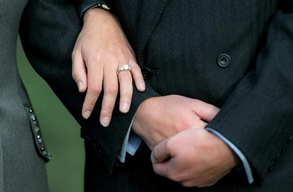 Sophie Wessex's engagement ring. | Photo: Getty Images
