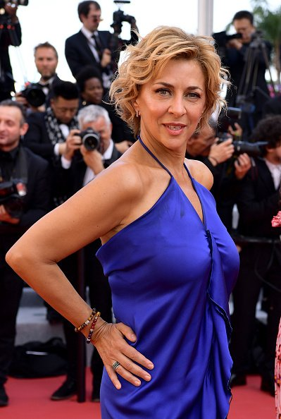 "Corinne Touzet assiste à la projection de ""The Traitor"" au 72ème Festival de Cannes le 23 mai 2019 