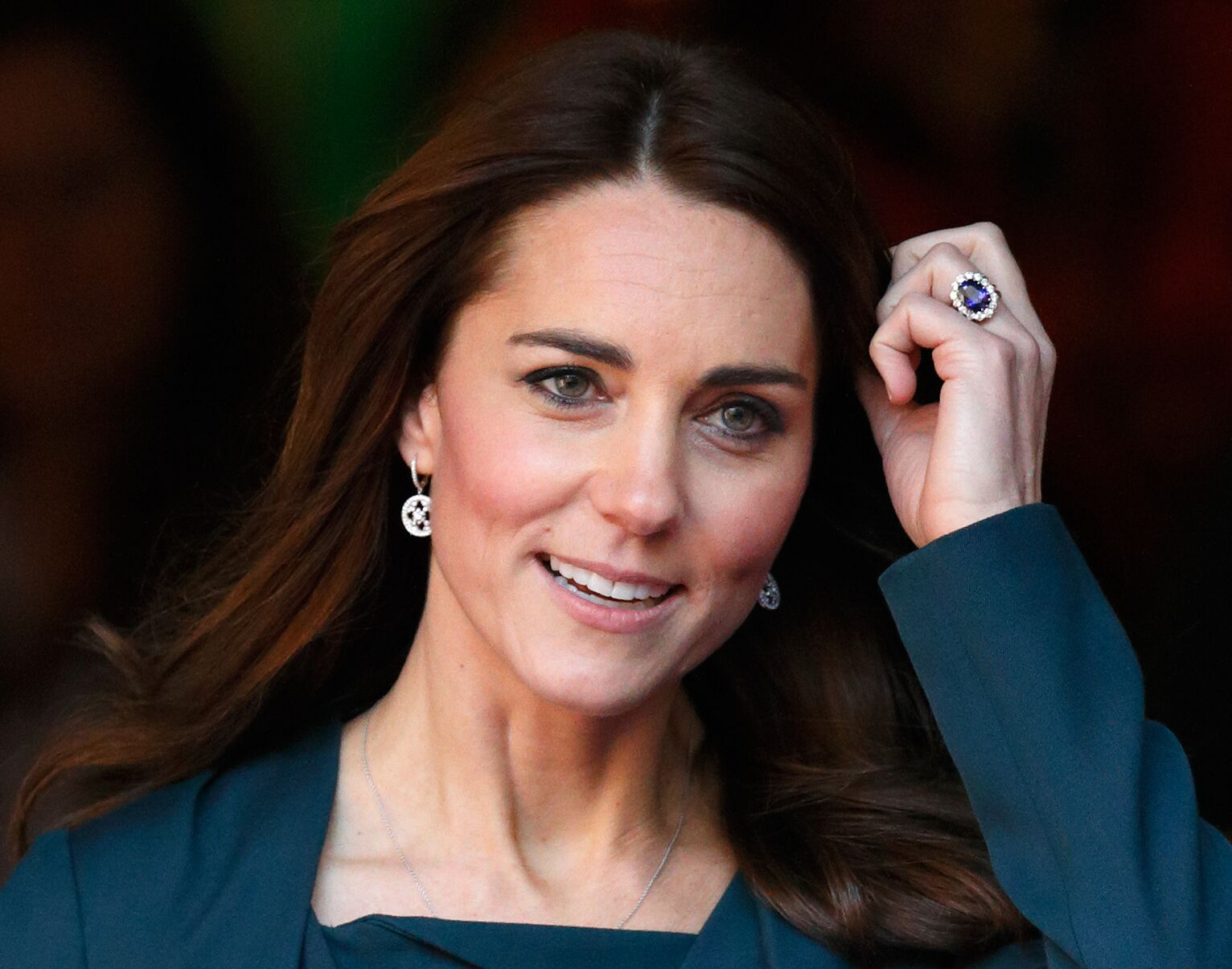 Catherine, Duchess of Cambridge attends the ICAP charity day at ICAP on December 9, 2015. | Photo: Getty Images