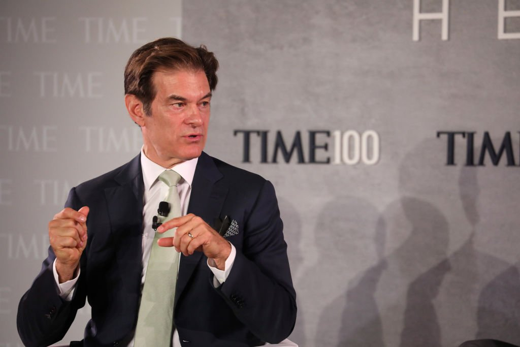 Dr. Mehmet Oz speaks onstage during the TIME 100 Health Summit  | Getty Images / Global Images Ukraine