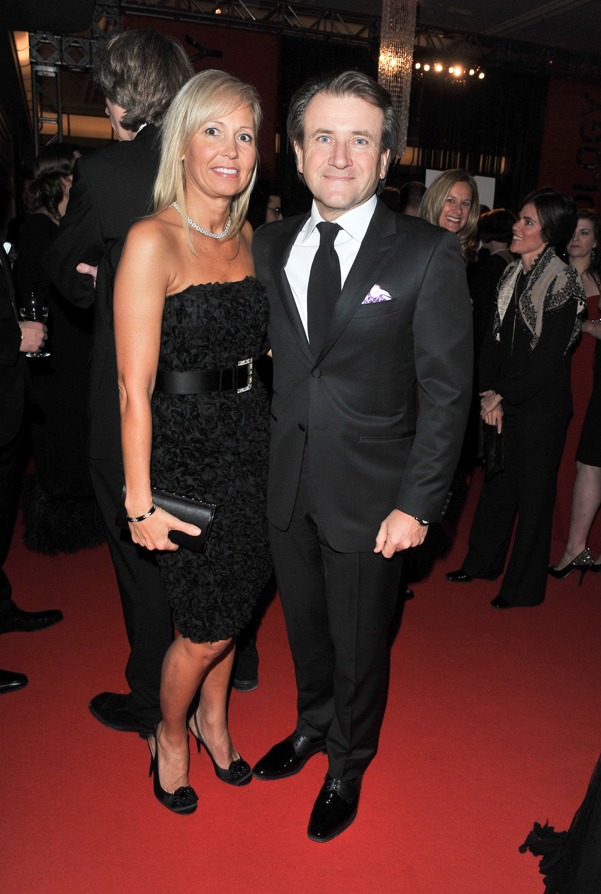 Diane Plese and Robert Herjavec at the Canadian Film Centre Gala and Auction at The Carlu on February 9, 2011, in Toronto, Canada | Photo: George Pimentel/WireImage/Getty Images
