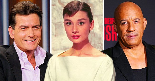 These Celebrities Changed Their Names: Charlie Sheen, Audrey Hepburn, Vin Diesel & and Others