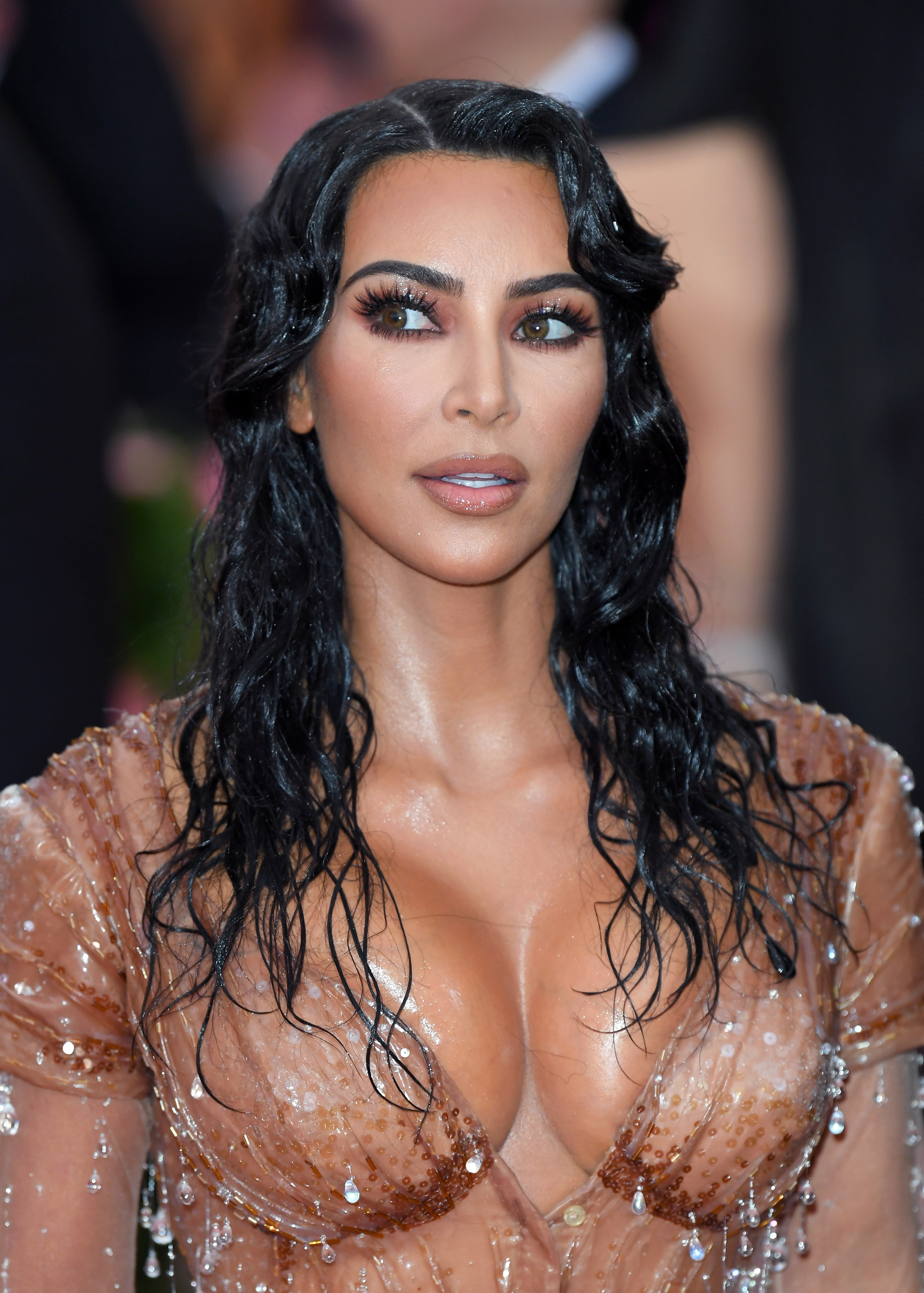 Kim Kardashian poses at the 2019 Met Gala at the Metropolitan Museum of Art on May 06, 2019 in New York City.   Source: Getty Images