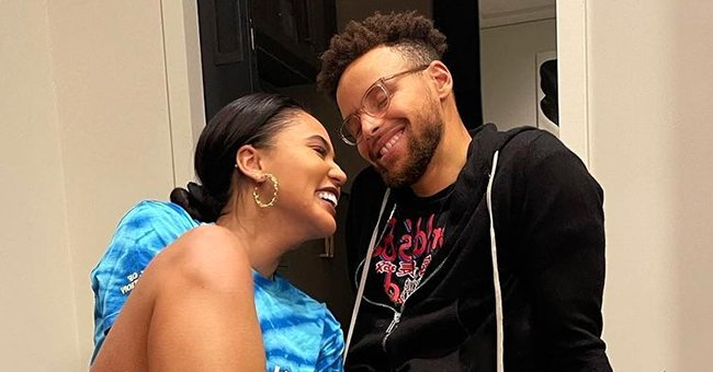 Check Out Ayesha & Steph Curry's Daughter Ryan as She Hangs Upside down in This Hilarious Photo