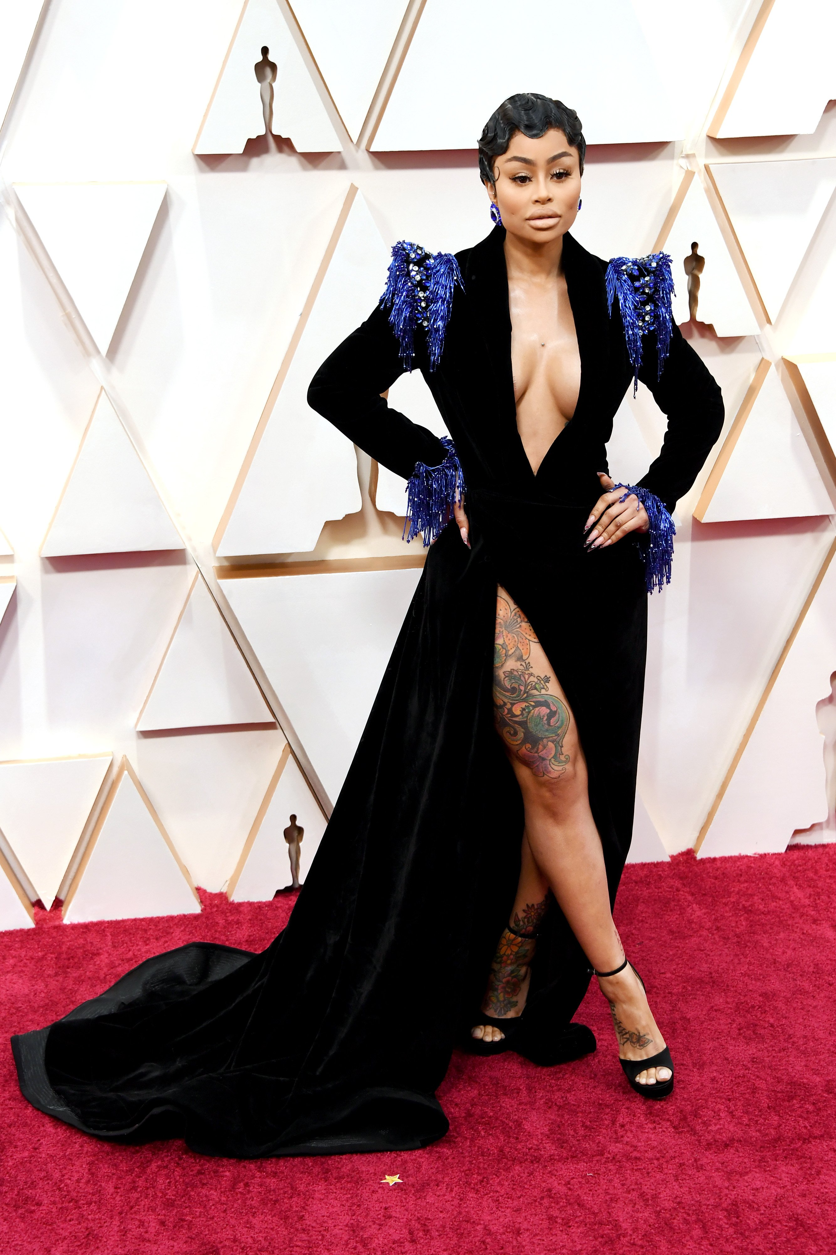 Blac Chyna attends the 92nd Annual Academy Awards at Hollywood and Highland on February 09, 2020 | Photo: GettyImages