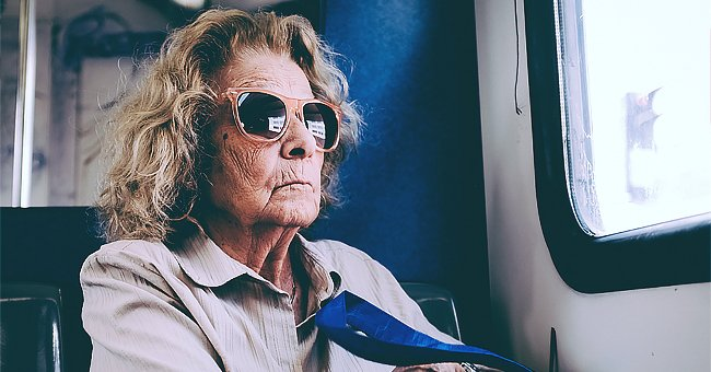 Daily Joke: An Old Lady Sat behind the Bus Driver