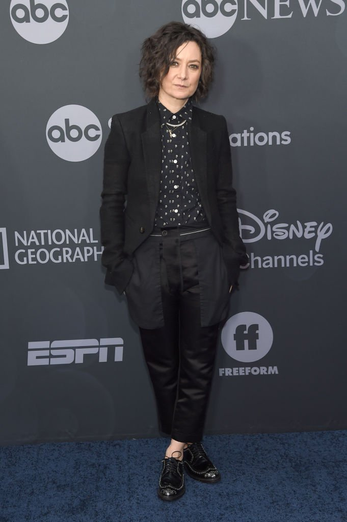 La comédienne Sara Gilbert. l Source : Getty Images