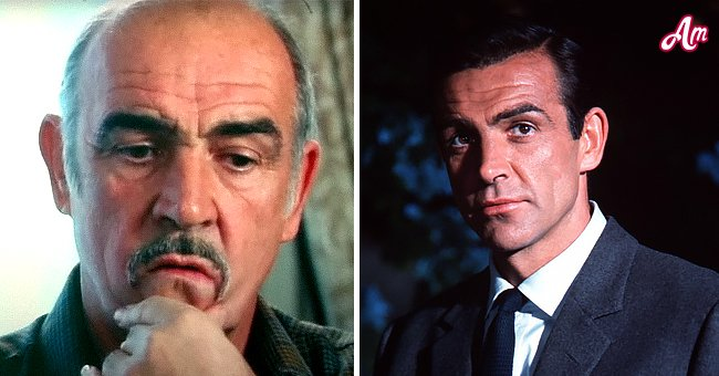 """""""James Bond"""" star Sean Connery at the start and end of his career   Photo: Getty Images"""
