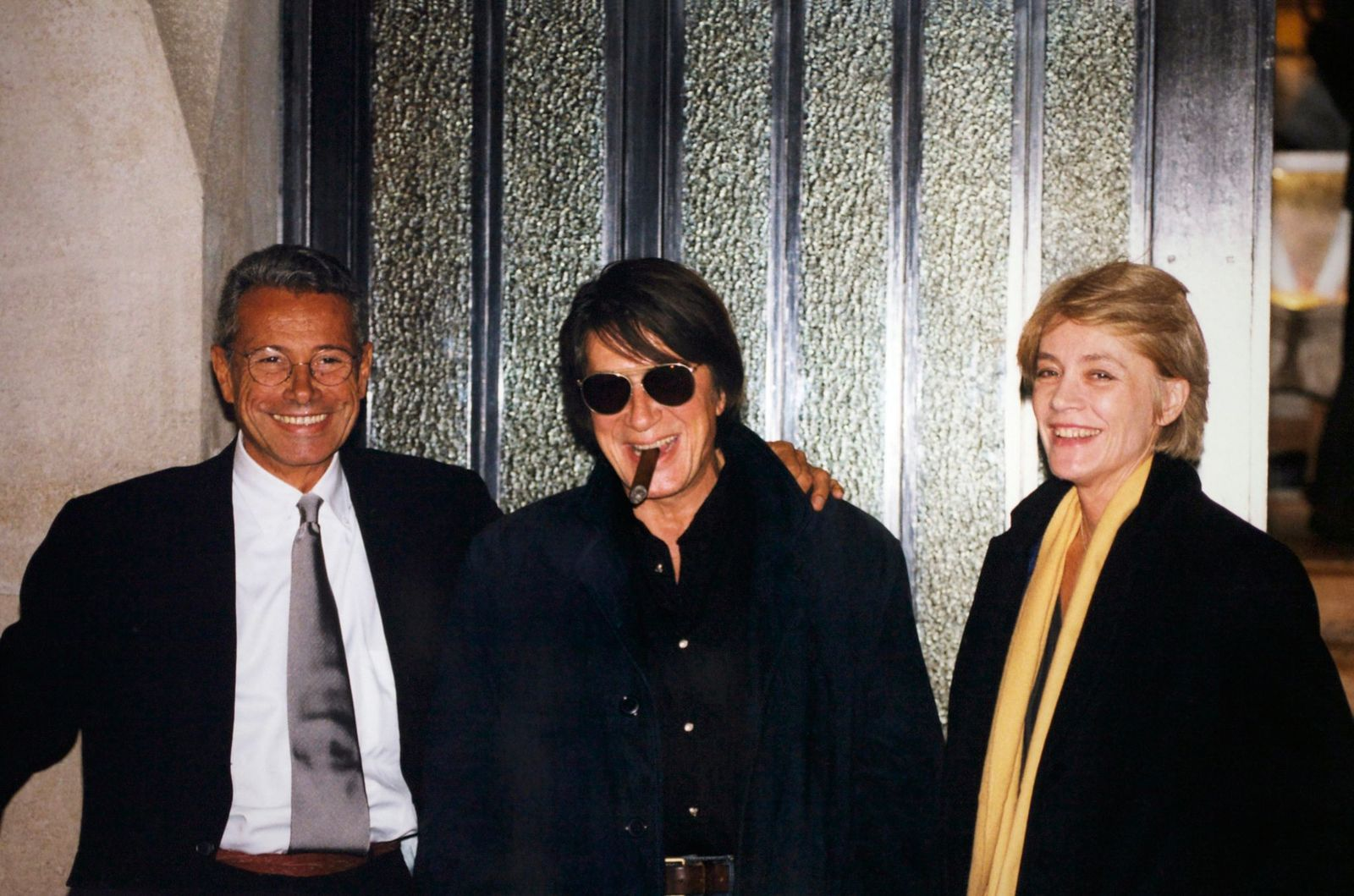 Jean-Marie Périer, Françoise Hardy et Jacques Dutronc | Photo : Getty Images