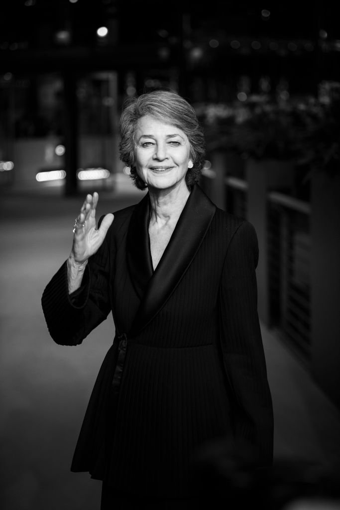 Charlotte Rampling le 14 février 2019 à Berlin. l Source : Getty Images