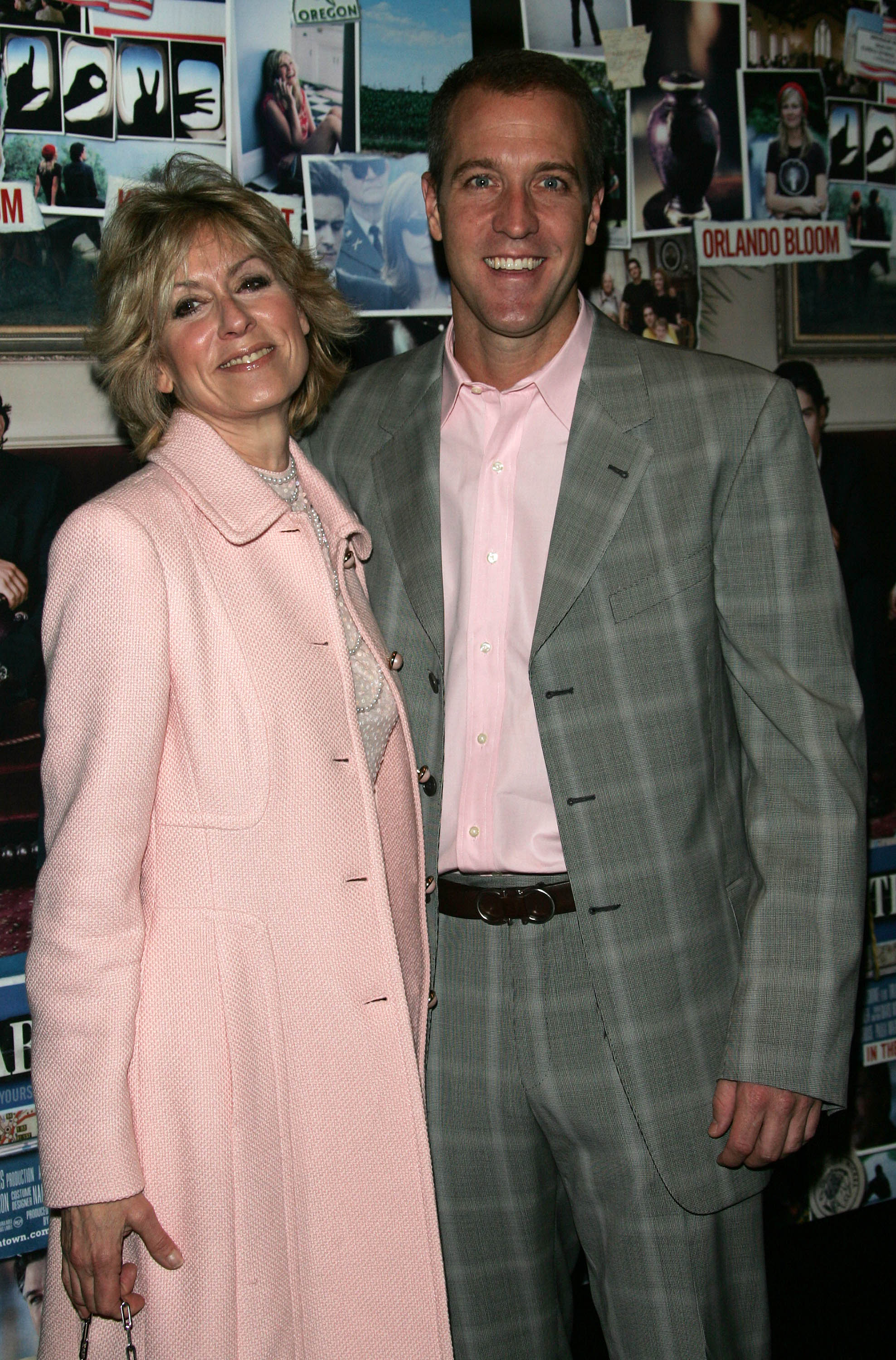 Judith Light with husband Robert Desiderio on October 10, 2005, in New York City. | Source: Getty Images