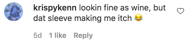 A fan commented on a photo of Nicole Murphy dressed in bodysuit byV'Che Label | Source: Instagram.com/nikimurphy