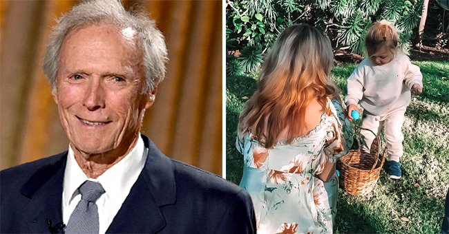 Clint Eastwood's Daughter Shares Cute Easter Holiday Photos with Her Son and Boyfriend