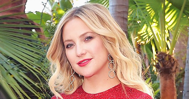 Kate Hudson and Boyfriend Danny Fujikawa Pose with Their Kids on the Back of a Truck in Christmas Outfits