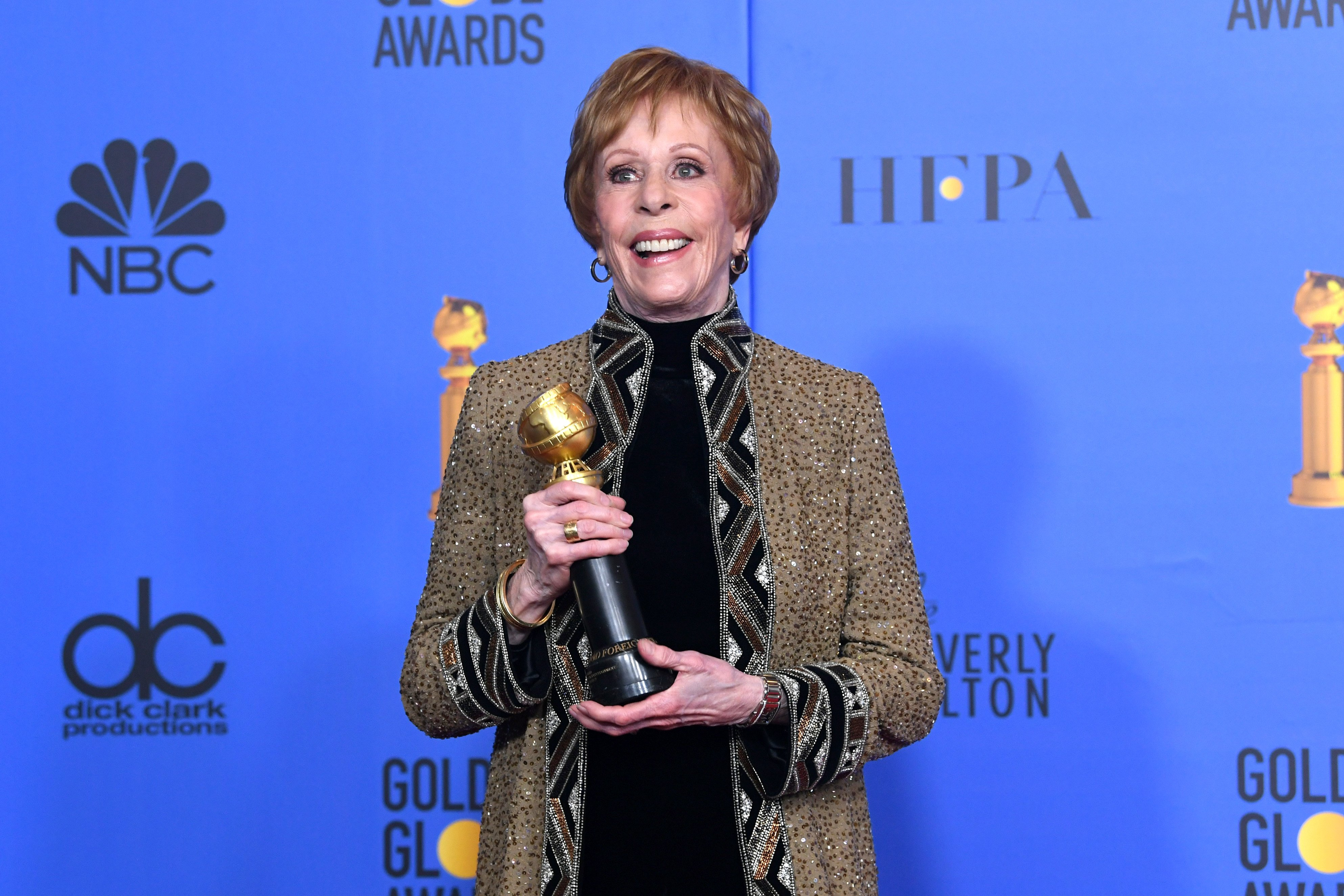 Carol Burnett at the 76th Annual Golden Globe Awards on January 6, 2019 | Photo: GettyImages