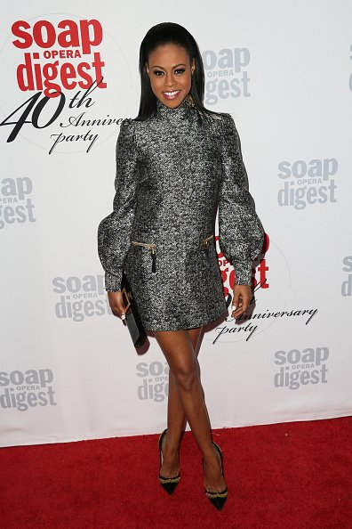 Vinessa Antoine arrives at the 40th Anniversary of the Soap Opera Digest at The Argyle on February 24, 2016   Photo: Getty Images