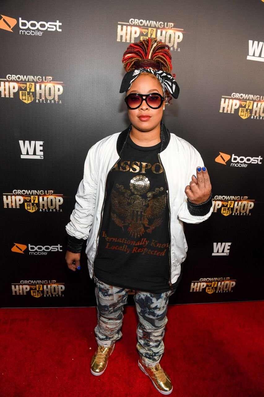 """Da Brat attends """"Growing Up Hip Hop Atlanta"""" season 2 premiere party at Woodruff Arts Center on January 9, 2018 in Atlanta, Georgia. 