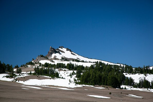 View of Crater Lake National Park, Oregon, US, on July 2, 2020. | Photo: Getty Images