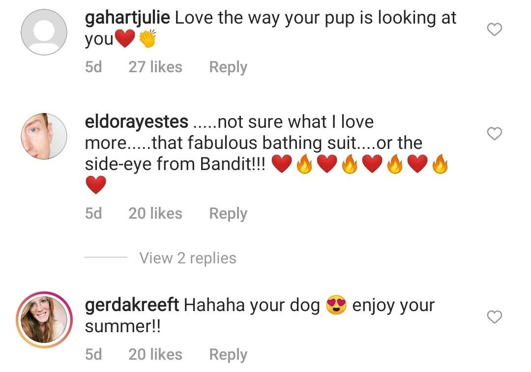 Comments from Sharon Stone's Instagram followers on her June 26 post | Photo: Instagram/sharonstone