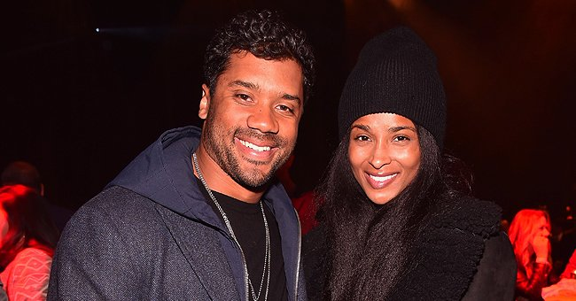 Russell Wilson Secretly Films Pregnant Wife Ciara Taking Selfies in a Funny Video
