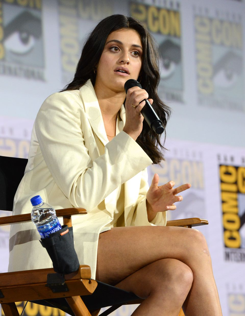 """Anya Chalotra at """"The Witcher"""": A Netflix Original Series Panel on July 19, 2019 in San Diego, California 