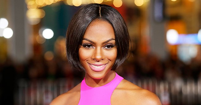 Tika Sumpter of 'Ride Along' Puts Her Figure on Display in Black Underwear Showing Off Fit Belly in New Photo