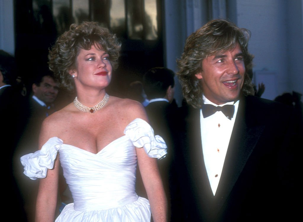 Melanie Griffith and Don Johnson during 61st Annual Academy Awards - Arrivals at Shrine Auditorium in Los Angeles, California, United States. | Source: Getty Images