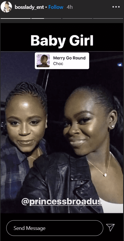 An image of Snoop Dogg's wife Shante Broadus and their daughter Cori | Photo: Instagram/bosslady_ent