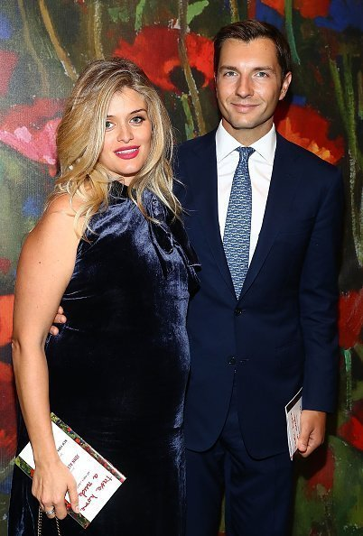 Daphne Oz and John Jovanovic at Sotheby's on October 11, 2017 in New York City. | Photo: Getty Images